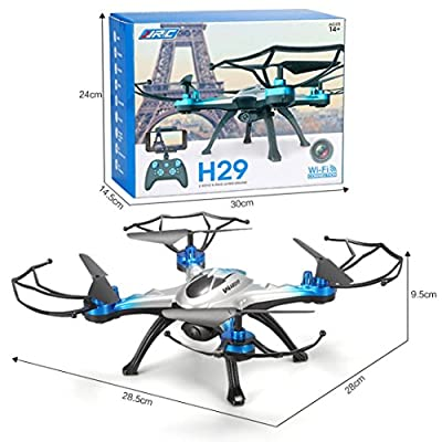 Creazy JJRC H29G 5.8Ghz FPV 2.4Gh CF Aerial 6Axis 4CH Quadcopter RTF 2MP Camera Drone