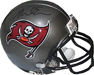 Mike Evans Signed Mini Helmet - Replica Tri Star Hologram - Autographed NFL Mini Helmets