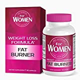 Fat Burner For WOMEN is a Dietary Supplement that contains Symbiotic Blend of Nine Ingredients to Support Weight Loss and Serves as a Metabolism Booster by Epic Nutrition - 90 Capsules