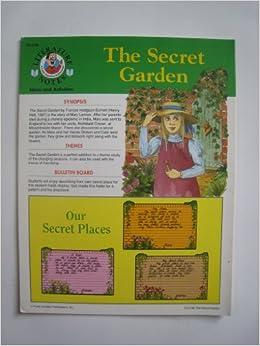 Literature Notes The Secret Garden Ideas And Activities Judy Shul Hiebenthal Tani Brooks