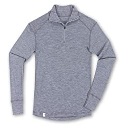 Ibex Men's Woolie Zip T-Neck Tee