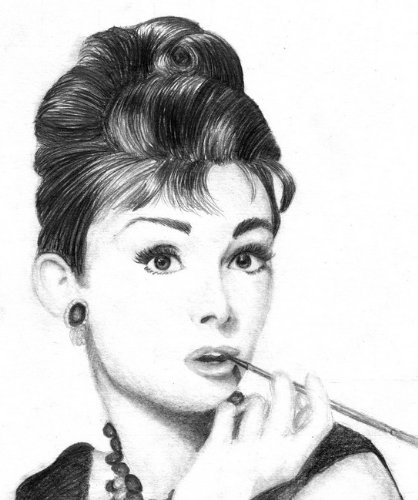 Audrey Hepburn Celebrity Photo Limited Canvas Print Movie Television ...