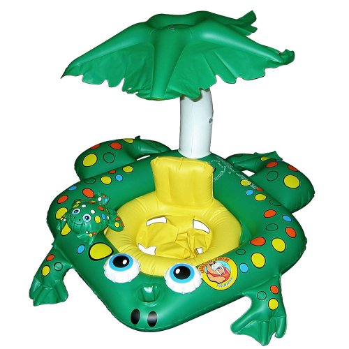 Poolmaster 81555 Frog Baby Rider - Learn-to-Swim
