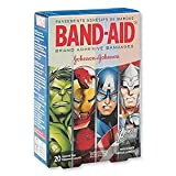 Band-Aid® Avengers Assemble Bandages - First Aid Supplies - 20 per Pack