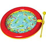Musical Toys MP482 Ocean Wave Drum (Red)