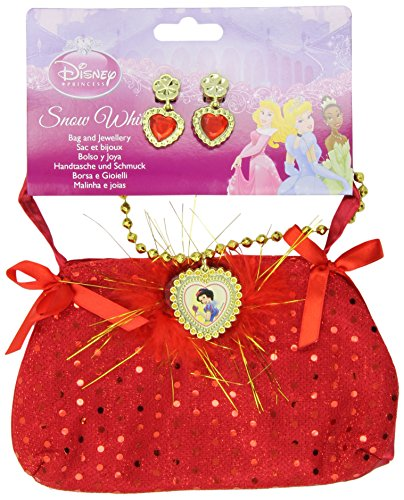 Disney Princess Snow White Bag And Jewellery Set - Kids Accessory