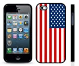 American Flag, Bold Vivid Color Design Snap-on Cover Hard Carrying Case for iPhone 5/5s Reviews