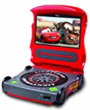 Starlite Disney Cars C7200PD 7-Inch Portable DVD Player (Red)