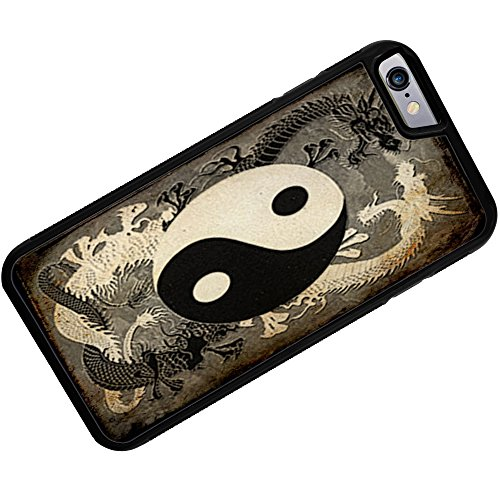 Rubber Case for iphone 6 Yin and yang, ying dragon – Neonblond