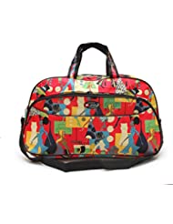 "Bazaar Pirates Luggage Travel Duffle Or Gym / Multi Purpose Utility Printed Bag ( 21"" X 12"" X 9"" )"