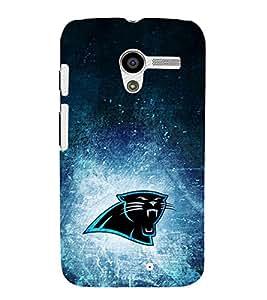 EPICCASE roaring panther Mobile Back Case Cover For Moto X (Designer Case)