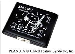 スヌーピ ーリードケース テナーサクソフォン(5枚入)ブラック