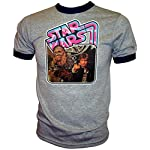 Han Solo & Chewbacca BLAST IT OUT Vintage Star Wars A New Hope Ringer T-Shirt