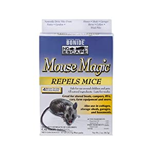 Amazon.com : Bonide 865 4 Count Mouse Repellent, 2-Ounce