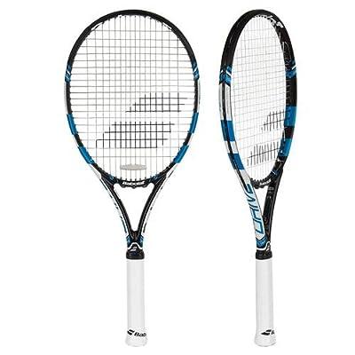 Babolat 101234-146 Pure Drive Unstrung Tennis Racquet, 4 3/8 (Black/Blue)