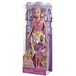 Barbie Fairytale Princess Barbie Doll, Multi Color