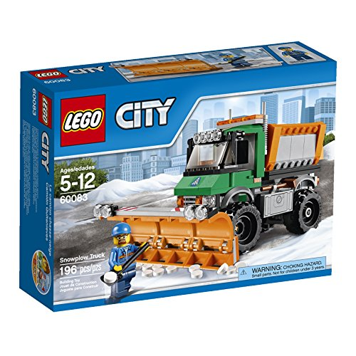 LEGO City 60083 Snowplow Truck (Snow Plow For Truck compare prices)