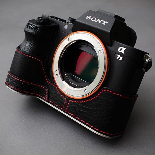 NEW LIM'S Leather Camera Case LE-HCSA7IIBK Black for SONY A7II/A7 Mark 2/ILCE-7M2 (A7 Mark Ii Case Black compare prices)