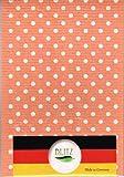 【まとめ買いセット】BLITZ ブリッツ 100%天然繊維 ドイツのフキン 水玉(オレンジ)3枚セット