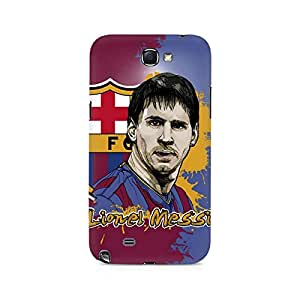 Ebby Lionel Messi Premium Printed Case For Samsung Note 2
