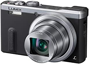Panasonic Lumix DMC-TZ61EG-S Travellerzoom Kompaktkamera (18 Megapixel, 30-fach opt. Zoom, 7,6 cm (3 Zoll) LCD-Display, Full HD, WiFi, USB 2.0) silber