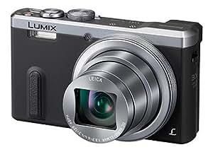 Panasonic Lumix DMC-TZ61EG-S Travellerzoom Kompaktkamera (18 Megapixel, 30-fach opt. Zoom, 7,6 cm (3 Zoll) LCD-Display, Full HD, WiFi, USB 2.0) silber