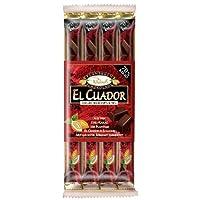 Rausch Plantation Chocolate El Cuador Stick, Fine-Dark, 70% Cocoa, 4 Sticks, 160g