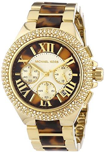 Michael Kors MK5901 43mm Gold Steel Bracelet & Case Mineral Women's Watch