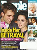 img - for People magazine, August 13, 2012-Robert Pattinson & Kristen Stewart-Inside her Betrayal. Also, 50 years later, Was marilyn Monroe Murdered? book / textbook / text book