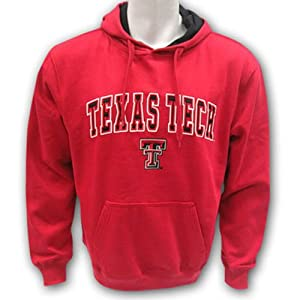Texas Tech Raiders Adult Automatic Hooded Sweatshirt by Unknown