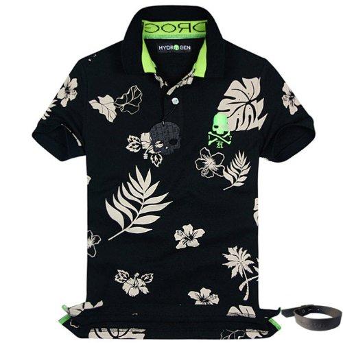 (ハイドロゲン)HYDROGEN ポロシャツ 半袖 メンズ HYD-15(M) [ウェア&シューズ]