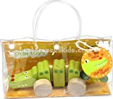 Charlie Chomp the Crocodile Wooden Pull Toy