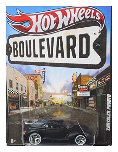 Hot Wheels Boulevard - Concept Cars - Black Chrysler Pronto - 1
