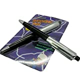 Leegoal Creative Prank Trick Toys Gift Electric Shocking Pen with Battery
