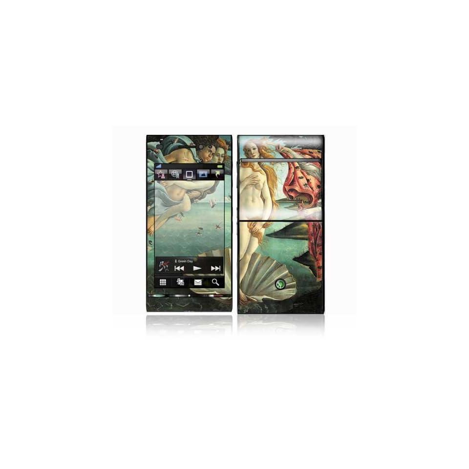 Birth of Venus Design Decorative Skin Cover Decal Sticker for Sony Ericsson Satio Cell Phone
