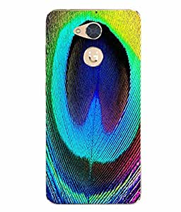 Case Cover Nature Printed Colorful Soft Back Cover For Gionee S6 Pro