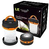 LE Laterne LED Zusammenklappbar Camping Taschenlampe, mini...