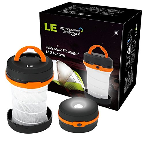 LE-LED-Camping-Laterne-Taschenlampe-tragbare-LED-Notfallleuchte-3-Helligkeiten-Aussenleuchte-fr-Camping-Outdoor-Wandern-Angeln-Abenteuer-Campinglampe