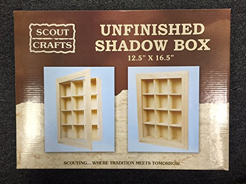 Scout Crafts Shadow Box (Boy Scout Display Case compare prices)