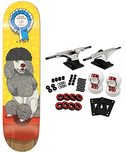 ENJOI Complete Skateboard IMPACT PLUS BEST IN SHOW BARLETTA dog 8.0