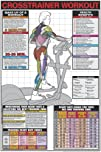 Crosstrainer Workout 24 X 36 Laminated Chart
