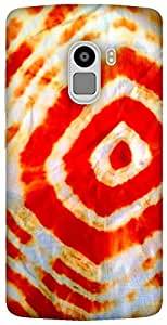 The Racoon Lean Mandala hard plastic printed back case / cover for Lenovo K4 Note