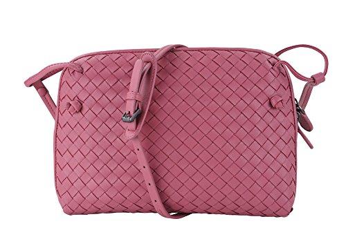 bottega-veneta-borsa-agnello-rosa