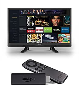Seiki SE32HY 32-Inch 720p 60Hz LED TV and Amazon Fire TV Stick