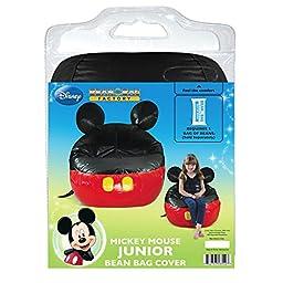 American Furniture Alliance Junior Mickey Mouse Vinyl Bean Bag Cover