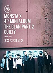 Monsta X - The Clan 2.5 Part.2 Guilty (4th Mini Album) [GUILTY Ver.] CD with Folded Poster Extra Gift Photocard Set