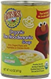 Earths Best Organic Elmo Noodlemania Soup, 14.5 Ounce Cans (Pack of 12)