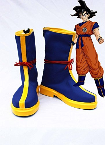 New Anime Men's Blue Boots Cosplay Accessories