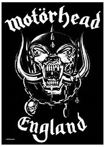 Motorhead England War Pig 公式 新しい ブラック Textile Flag ポスター 75cm x 110cm