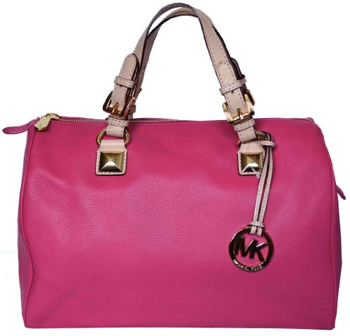 MICHAEL Michael Kors Grayson Large Satchel Handbags - Pink